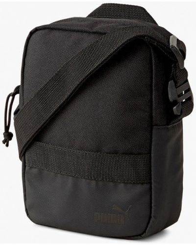 Черная текстильная сумка Puma
