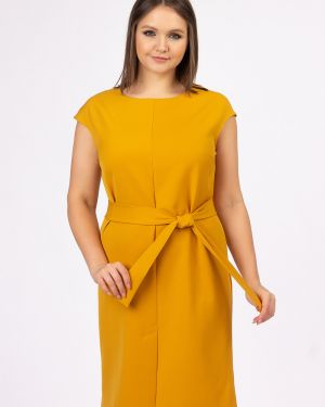 Платье с поясом платье-сарафан с карманами ангелика