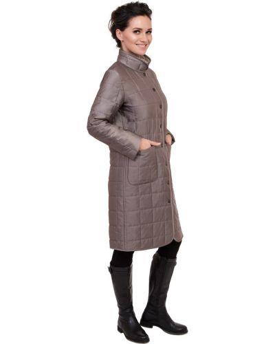 Пальто на кнопках с воротником J-splash