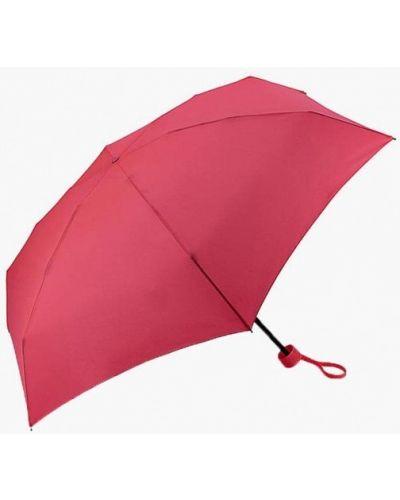 Розовый зонт складной Fulton