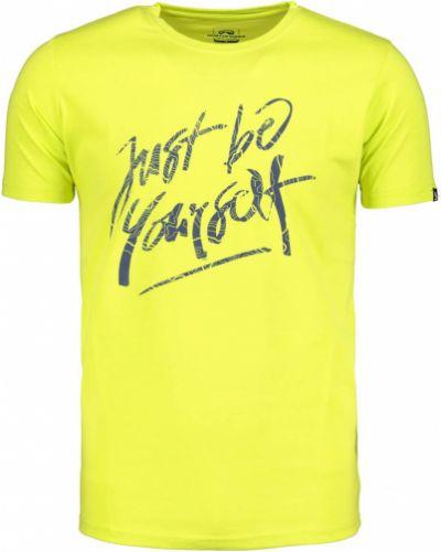 T-shirt materiałowa - żółta Northfinder