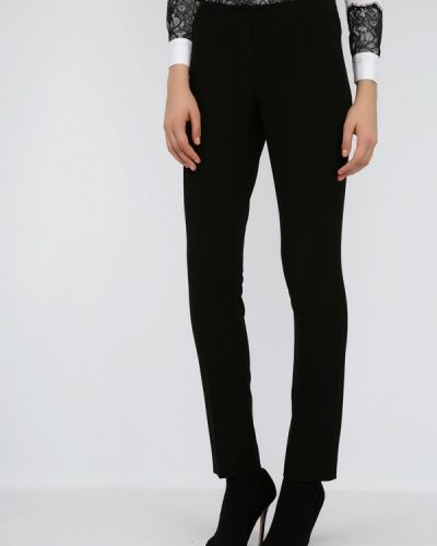 Черные классические брюки с карманами Monton