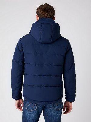 Куртка - синяя Wrangler
