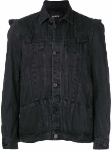 Czarne jeansy bawełniane Bmuet(te)