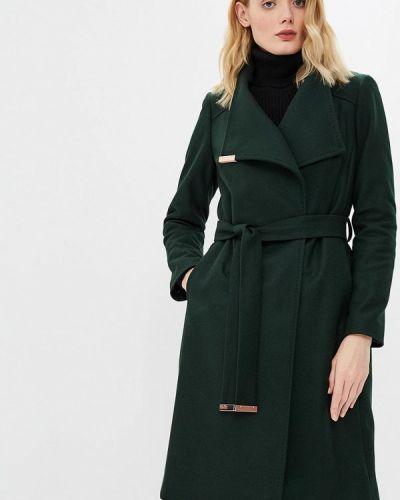 Пальто демисезонное зеленое Ted Baker London