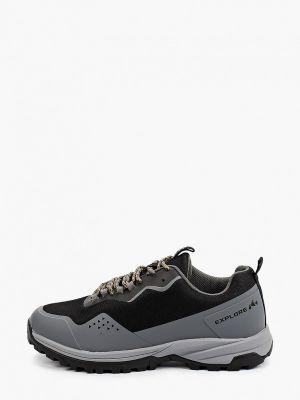 Черные зимние кроссовки X-plode