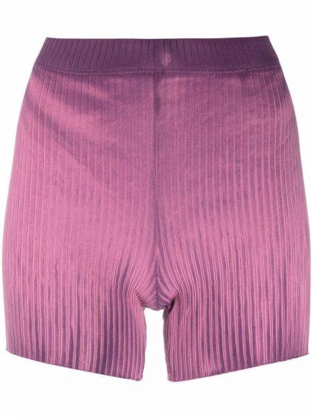 Хлопковые шорты - фиолетовые Cotton Citizen