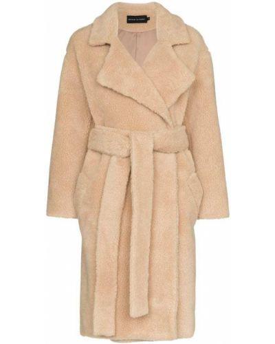 Длинное пальто с капюшоном Michael Lo Sordo