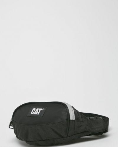 Текстильная поясная сумка - черная Caterpillar