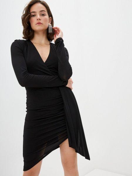 Черное повседневное платье Patrizia Pepe