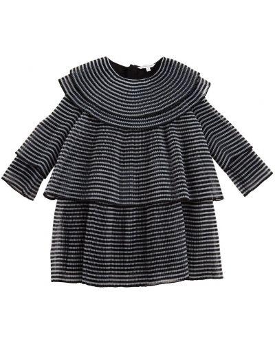 Платье с подкладкой на молнии с вырезом из органзы Little Marc Jacobs