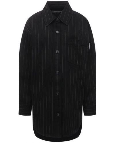 Хлопковая блузка с подкладкой Alexander Wang