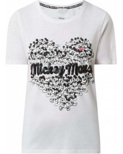 Biała koszulka bawełniana Frogbox