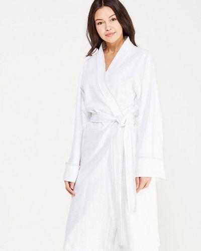 Белый домашний махровый халат Togas