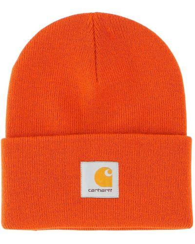Czapka - pomarańczowa Carhartt Wip