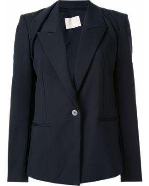 Синий пиджак с манжетами Dion Lee