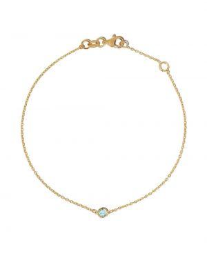 Bransoletka ze złota łańcuch szeroki Botier