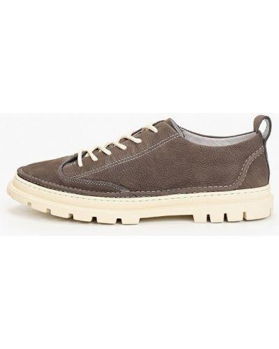 Серые ботинки из нубука Dino Ricci Trend