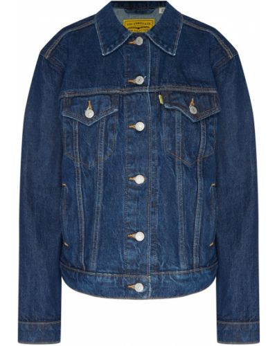 Джинсовая куртка хлопковая на пуговицах Levi's®