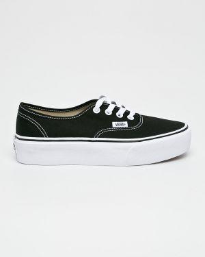 Sneakersy na platformie tekstylne Vans