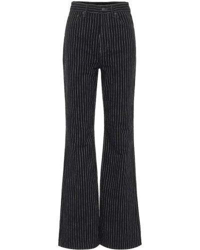 Czarny bawełna bawełna jeansy Acne Studios
