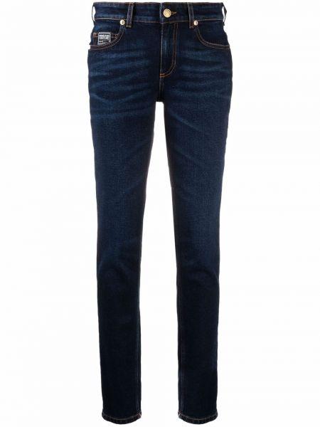Джинсы классические - синие Versace Jeans Couture