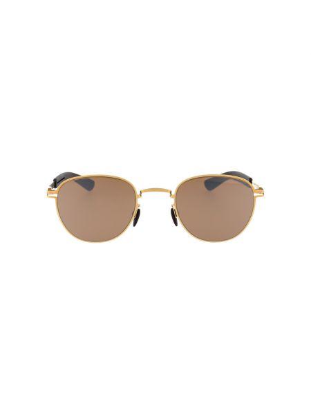 Brązowe okulary Mykita