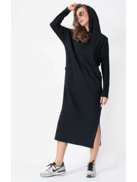 Платье черное Bornsoon