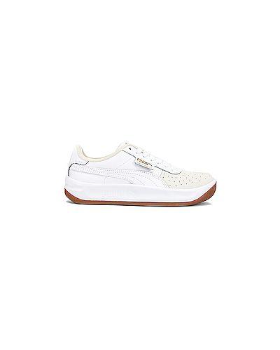 Кожаные кроссовки белый Puma
