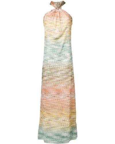 Платье с вырезом с узором Missoni