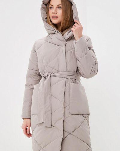Утепленная куртка - бежевая Odri Mio