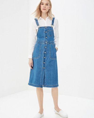 Джинсовое платье весеннее Regular