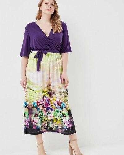 Фиолетовое платье весеннее Svesta