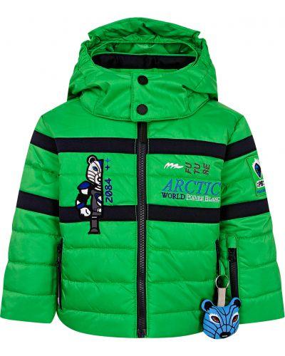 Зеленая куртка Poivre Blanc
