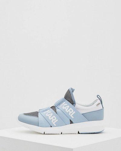 Кроссовки голубой Karl Lagerfeld