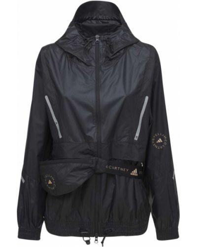 Ветровка - черная Adidas By Stella Mccartney