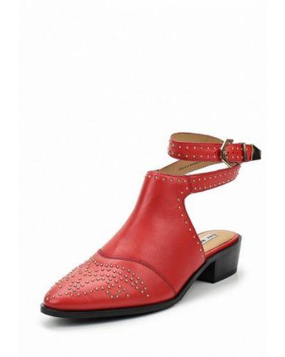 Кожаные туфли на каблуке Bronx