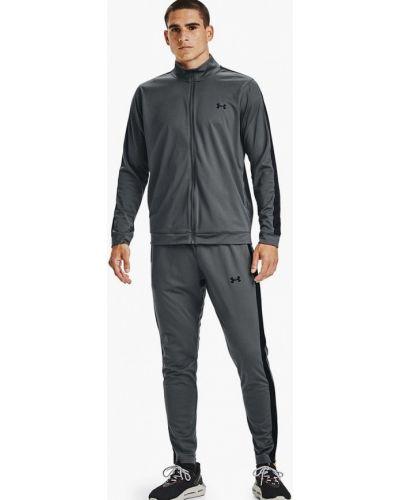 Костюмный серый спортивный костюм Under Armour