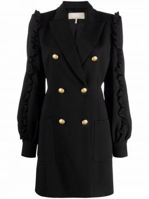 Черное платье с вырезом Elie Saab