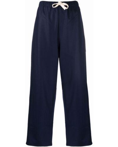 Укороченные брюки - синие Sofie D'hoore