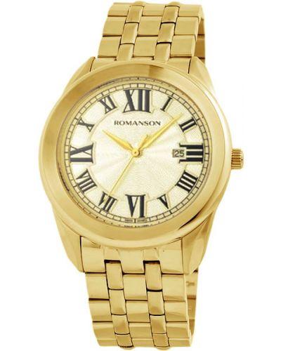 Часы водонепроницаемые классические Romanson