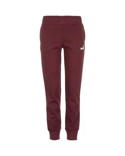 Спортивные брюки с карманами красный Puma