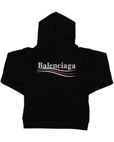 Czarna klasyczna bluza Balenciaga