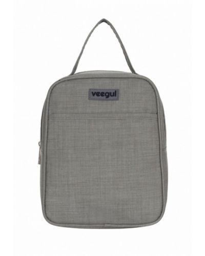 Серая дорожная сумка Veegul