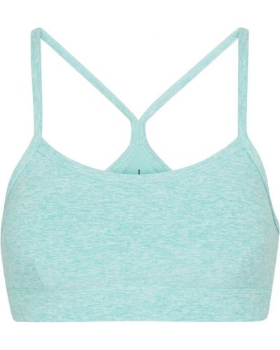 Niebieski biustonosz sportowy Alo Yoga