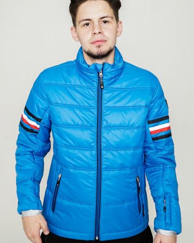 Брендовая черная куртка горнолыжная Vuarnet