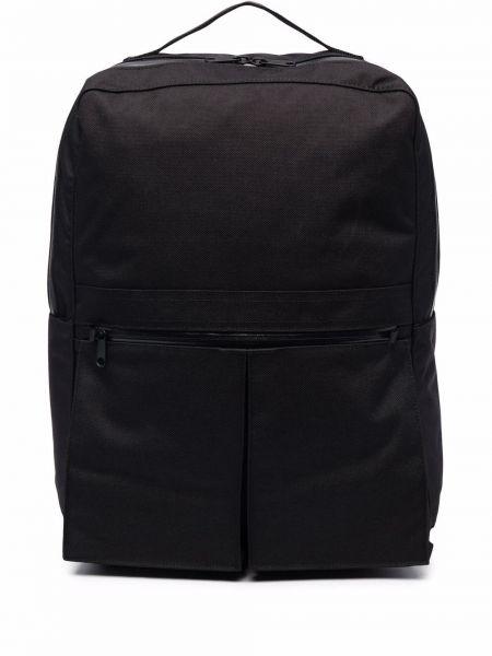 Czarny plecak z nylonu Comme Des Garcons Homme Deux