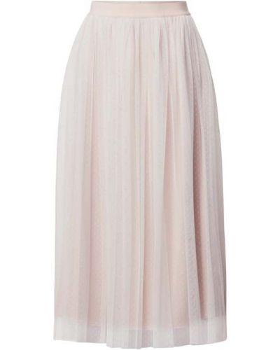 Biała spódnica rozkloszowana Apart Glamour
