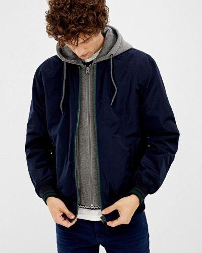 Утепленная куртка осенняя синяя Springfield