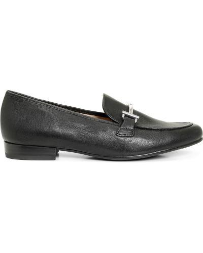 Czarne loafers Ara
